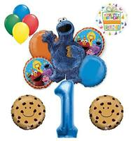 Mayflower Products Cookie Monster and Friends 1st Birthday Party Balloon s