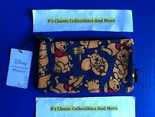 Loungefly Winnie The Pooh Zip Pouch, Cosmetic/Coin Bag, Pencil Pouch, Disney New