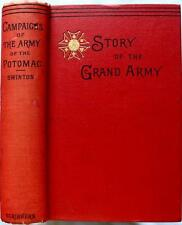 1882 CAMPAIGNS OF THE ARMY OF THE POTOMAC CIVIL WAR NEAR FINE ILLUSTRATED
