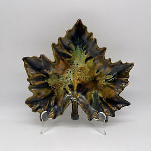 Decorative Leaf Plate Trinket Dish