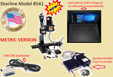 Sherline 8541 12 Mill System Usb Cnc Controller Laptop Windows Metric