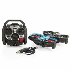 Air Hogs RC Helix X4 Stunt 2.4 GHz Drone Blue/Red Elite Quadcopter - NEW!