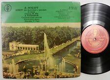 "MOZART Pianio Concerto In C minor Bashkirov USSR Sym  Gauk Early Russian 10"" LP"