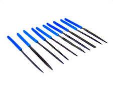 10 Pc Needle File Files Mini File Dip with PVC Handle Set