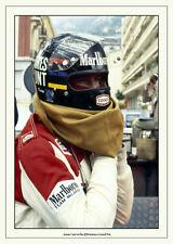James Hunt 1978 Monaco`Vintage Photograph