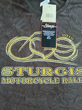 Women's Sturgis Motorcycle Rally T-Shirt Large.