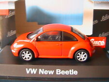 VW VOLKSWAGEN NEW BEETLE 1997 RED SCHUCO 04531 1/43 COCCINELLE ROUGE ROT