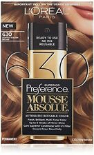 L'Oreal Paris Superior Preference Mousse Absolue, #630 Lightest Golden Brown NEW