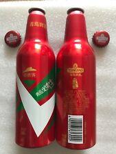 "2018 China Tsingtao Beer ""Pizza Hut"" 355ml Empty Aluminum Bottle"