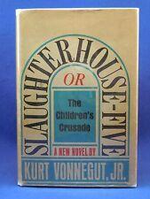 SLAUGHTERHOUSE-FIVE by Kurt Vonnegut First Edition 2nd Print Original DJ, 1969