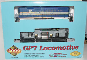 Life-Like Proto 2000 GP7 Richmond Fredericksburg Potomac RF&P 103 New Axle Gears
