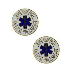 Emergency Medical Technician Lapel Pins - Two Per Pack