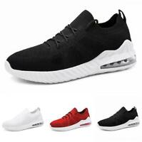 Men Fashion Sneakers Shoes Pumps Mesh Breathable Running Jogging Sports Casual L