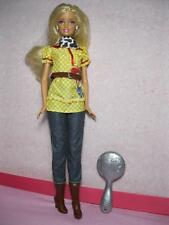 "Barbie Disney Pixar Toy Story 3 Barbie Loves Jessie 11"" Fashion Doll cowboy boot"