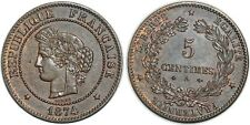 5 CENTIMES CERES 1874 A  F.118 SUP++!!!