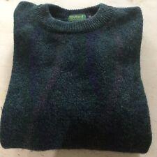 Vintage Mens Byford Wool Crewneck Sweater Made In England Large Medium
