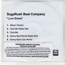 (EQ104) SugaRush Beat Company, Love Breed - 2009 DJ CD