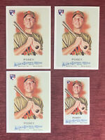 Lot of (4) 2010 Topps Allen Ginter BUSTER POSEY Rookie Mini #294 RC Giants🔥