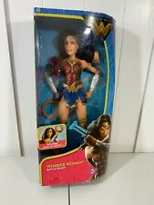 New Mattel Dc Wonder Woman Battle Ready Doll Action Figure w/ Lasso