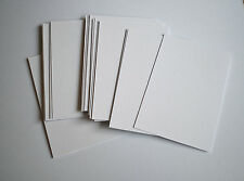 A5 Card Smooth WHITE 250gsm Pack of 40 Cards