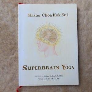 Master Choa Kok Sui Superbrain Yoga book