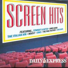 SCREEN HITS - PROMO CD: ITALIAN JOB, ROCKY, JAWS, PINK PANTHER, STAR WARS ETC