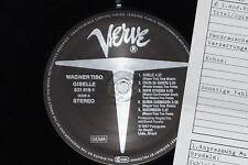 WAGNER TISO GISELLE - LP 1987 Verve Archiv-Copy mint