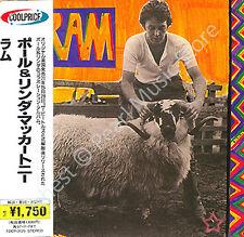 PAUL MCCARTNEY RAM CD MINI LP OBI Quarrymen Beatles Wings Linda album new sealed
