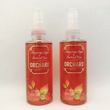 2 Bath & Body Works Orchard Honeycrisp Apple Buttered Rum Fragrance Travel Mist