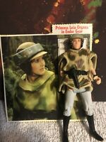 "Kenner Star Wars Power of the Force POTF Action Figure 3.75"" Leia in Endor Gear"