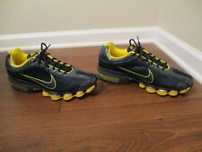 new product 3d7bf f780e Classic 2008 Used Worn Size 13 Nike Air Max Dream Shox Shoes Navy Yellow  Gold