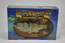 """Large Mouth Lou Singing Fish """"Proud Mary"""" """"Stand by Me"""" Songs New in Box"""