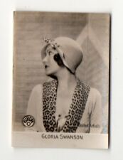 Gloria Swanson 1931 Orami Series B Film Star Cigarette Card #72