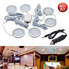 6pcs 12V 2.5W Interior LED Spot Lights for VW T4 T5 Camper Van Caravan Boat