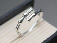 Adjustable 925 sterling silver tree branch ring Stacking Topfinger Knuckle ring