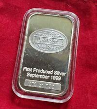 El Penon Mine - 1 troy oz .999 Silver Bar Ingot - Meridian Mining Co. #272/700