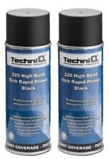 High Build Acid Etch Rapid Primer BLACK SPRAY Aerosol Spray Pro Quality 2 CANS