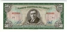 **   CHILI     50  escudos   1970   p-140b.1    UNC   **