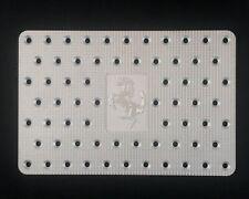 FERRARI 348/355 PASSENGER ALUMINUM DEAD PEDAL/FOOT REST W/CAVALLINO