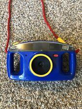Fisher Price 3815 Kids 110 Film Camera 35mm 1993 Blue