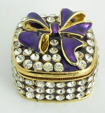Jewelry box/Enamel box / Wedding favor, engagement, bridal shower, sweet 16 ...