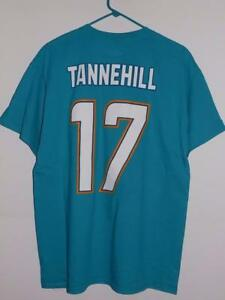 Miami Dolphins t shirt Ryan Tannehill name and number official NFL NWT