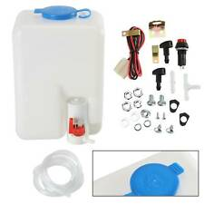 Universal 12v windscreen washer bottle kit motor pump jets 160186 classic mini