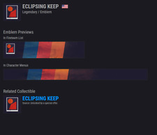 Destiny 2 ECLIPSING KEEP EMBLEM CODE!!!!!AVAILABLE NOW!!!! INSTANT DELIVERY!!!!!