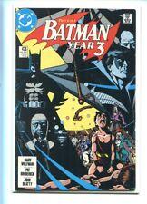 BATMAN #436 SOLID GRADE KEY ISSUE WOLFMAN BRODERICK