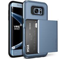 For Galaxy S7/S7 Edge Case VRS®[Damda Glide] Slim Light Shockproof Wallet Cover