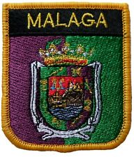 Malaga Spain Shield Embroidered Patch