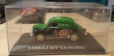 RARE FRENCH CAR RENAULT 4CV CA VA SEUL IN BOX