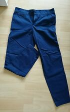++Esprit++ Damenhose Chino Stoffhose - Größe 34 - blau -Baumwolle Neuwertig Top