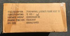 SEALED CASE MARVEL LEGENDS SERIES 10 (2005) ToyBiz; Sentinel Series